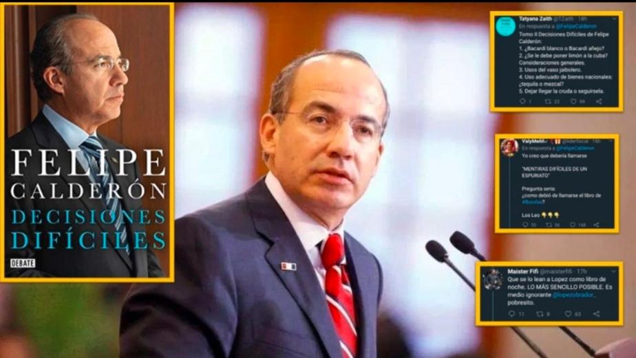 Libro de Felipe Calderón es PIRATEADO y vendido a precios muy bajos