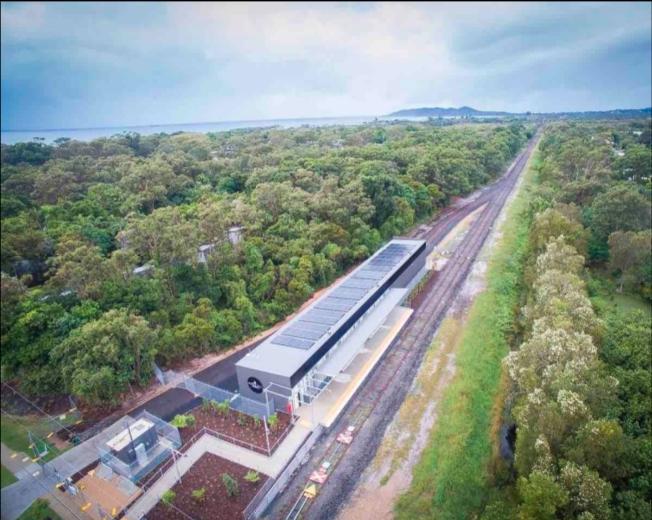 Tren Maya correrá a un lado del puente elevado que cruza Playa del Carmen
