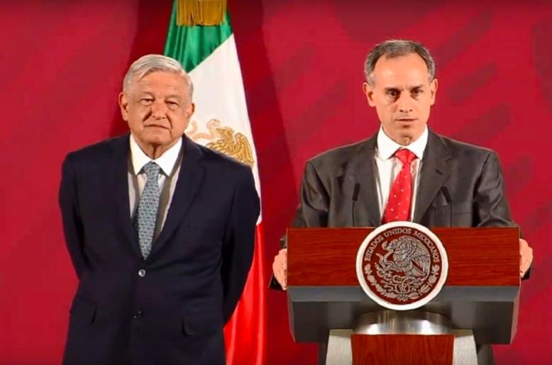AMLO habla de denuncia del coordinador panista contra Hugo López Gatell