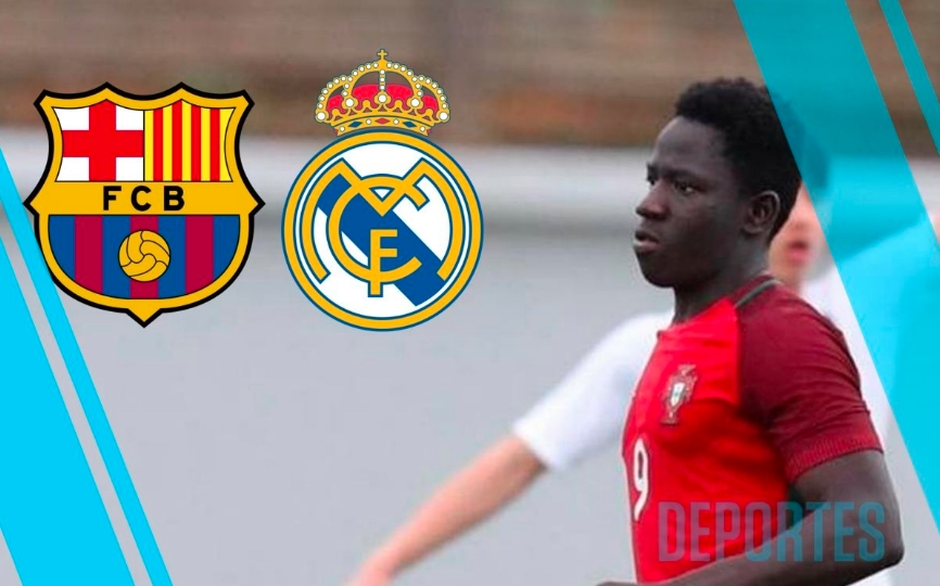 Barcelona y Real Madrid PELEAN al nuevo 'Lukaku'