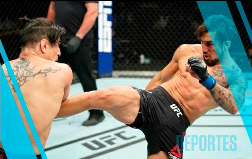 'Moggly' Benítez sufre BRUTAL CORTADA en UFC (Fotos y Video)