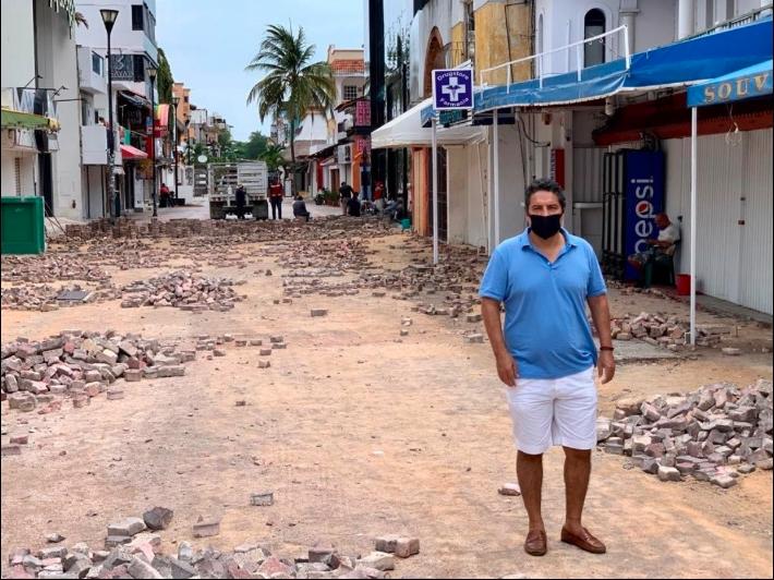 Ambientalistas se desmarcan de obras de Laura Beristain en Playa del Carmen