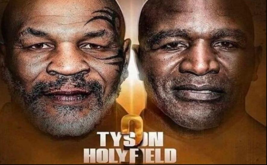 Mike Tyson vs Evander Holyfield para Julio