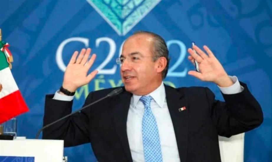 Felipe Calderón justifica pésima labor como presidente de México