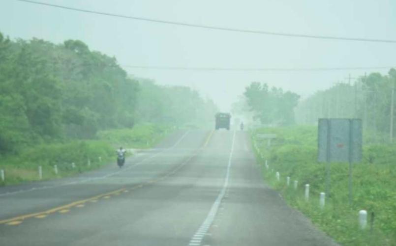 10 personas hospitalizadas en Quintana Roo por el polvo del Sahara, ¡cuidado!