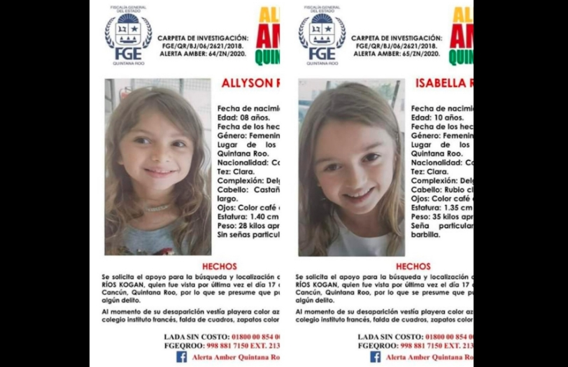 ¡Alerta! Desaparecen dos hermanas en Cancún, su familia está desesperada