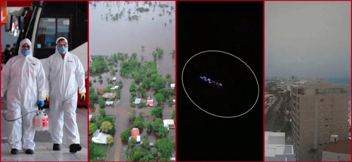 Cancún; COVID-19, Ovnis, tormenta tropical, polvo del Sahara y, ¿ahora qué falta?