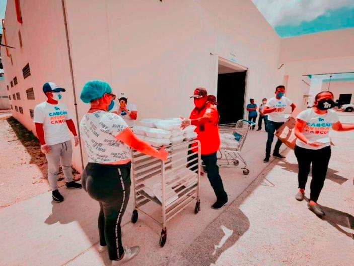 Cancún; Mara con apoyo de las iglesias sigue ayudando a los más vulnerables