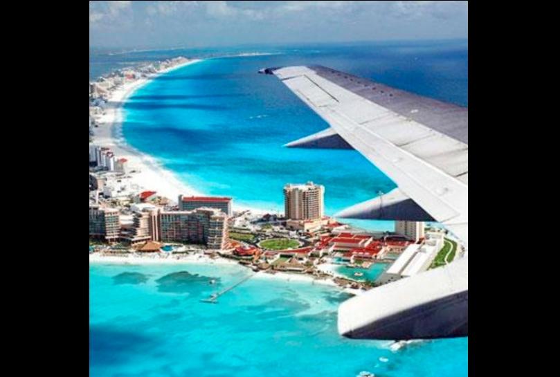 Casos de Covid-19 y vuelos en el aeropuerto aumentan en Cancún