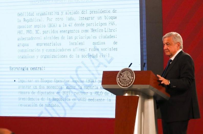 BOA: funcionario de Segob reacciona a documento expuesto por AMLO