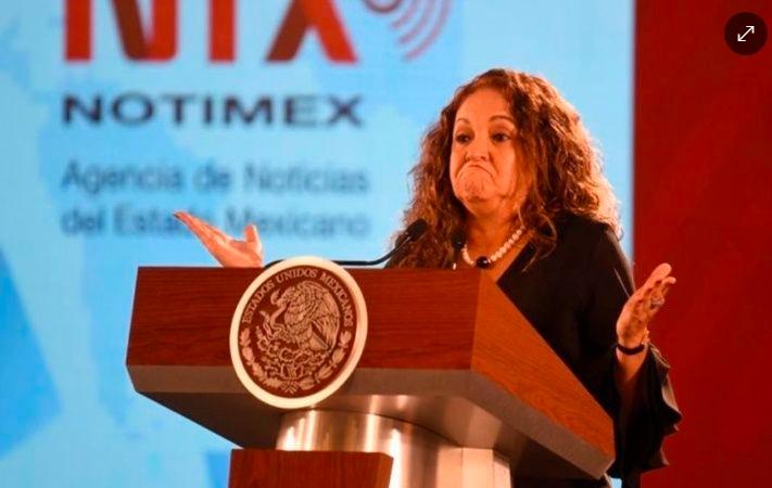 PAN pide la salida de Sanjuana Martínez para solucionar conflictos de Notimex