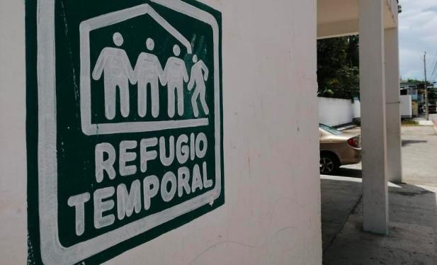 Playa del Carmen: Refugios anticiclónicos, listos ante cualquier eventualidad climatológica