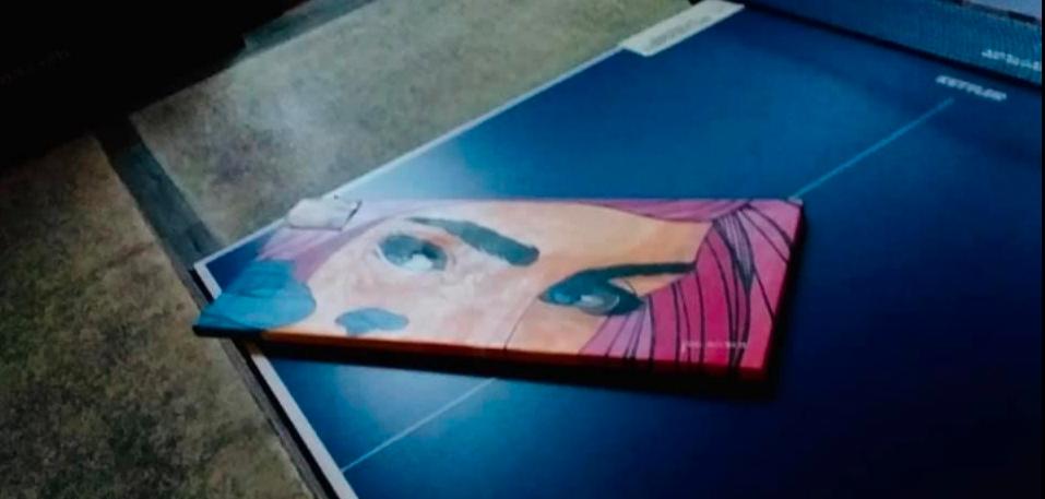 Extranjero intentó robar una pintura en Puerto Cancún, denunció artista