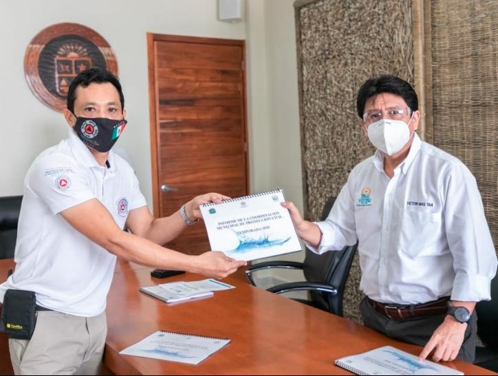 Detectan puntos de riesgo en caso de huracán en Tulum