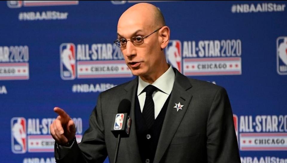 Adam Silver advierte riesgo en la reanudación de la NBA