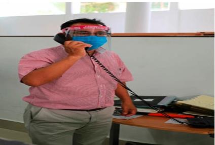 BRINDA SERVICIOS VÍA TELEFÓNICA