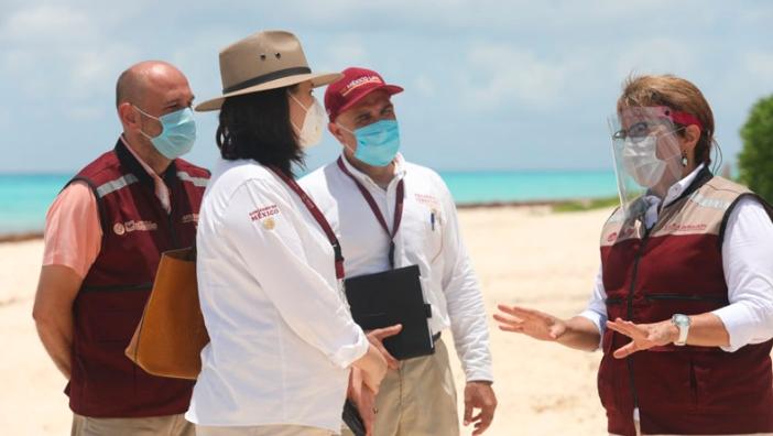Juntos Gobierno Federal y Municipal devolveremos las playas al pueblo: Laura Beristain