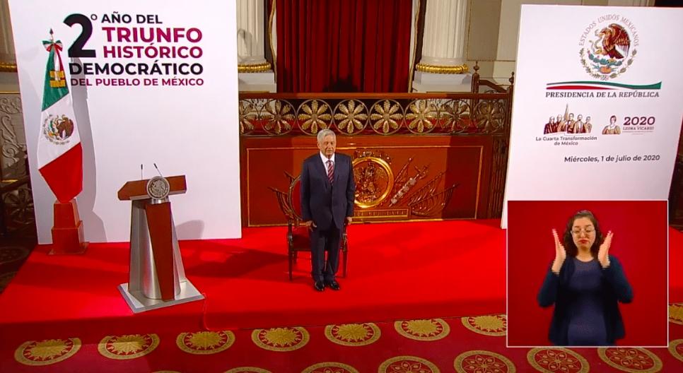 AMLO se dice orgulloso del comportamiento del pueblo mexicano ante el Covid-19