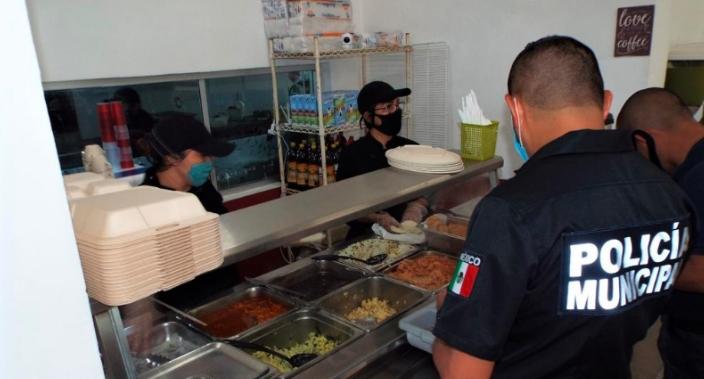 Salud  y alimentación de nuestra policía también  es prioridad: Laura Beristain