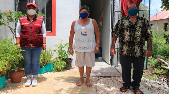 En Solidaridad se garantizan viviendas dignas a las familias en situación vulnerable: Laura Beristain