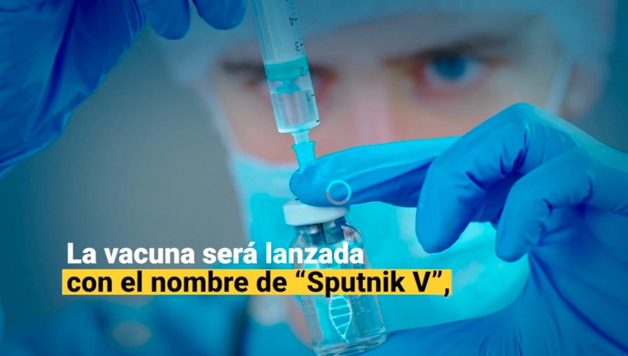 Rusia registra la primera vacuna contra el COVID-19 en el mundo, según Putin