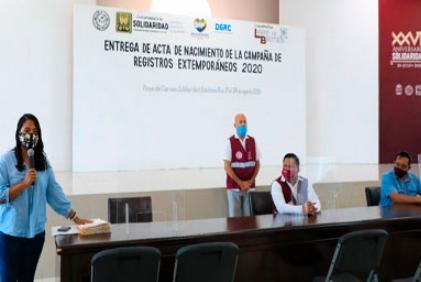 CONCLUYE ENTREGA DE ACTAS
