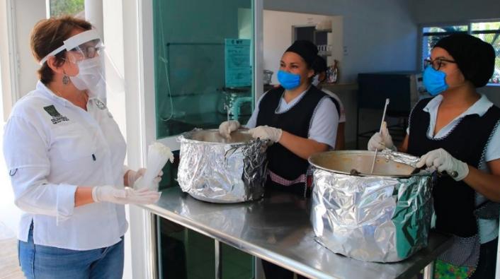 Comedores Solidarios entregan más de 120 mil comidas a la población: Laura Beristain