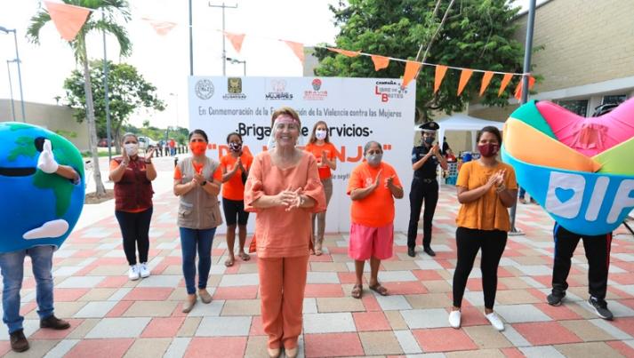 Cumple con hechos Laura Beristain en el combate a la violencia contra las mujeres
