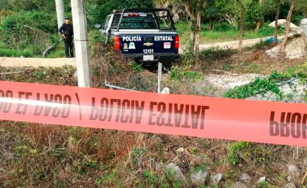 Hallan 3 cadáveres putrefactos en Playa del Carmen; 2 hombres y una mujer