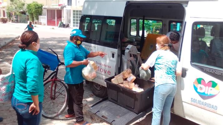 En Solidaridad continua el apoyo alimenticio a los más necesitados: Laura Beristain