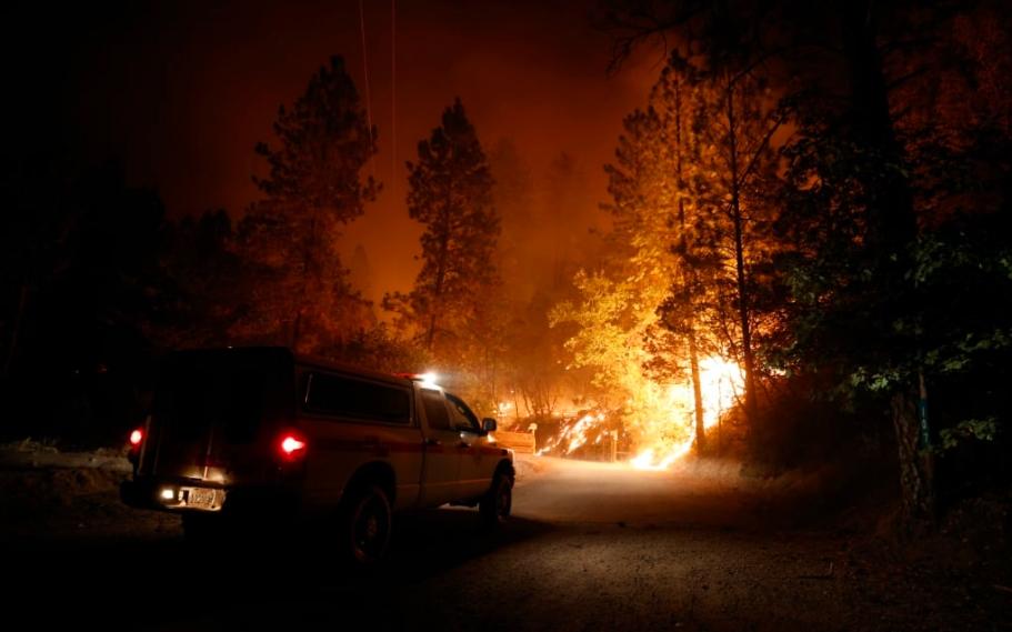 Greenpeace alerta de que el fuego ha arrasado en California la mayor superficie de su historia