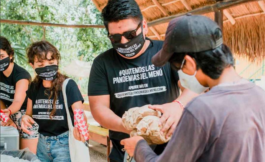 Celebran Día Mundial de la Alimentación a base de plantas en Playa del Carmen