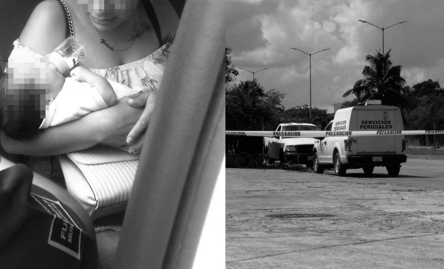 Playa del Carmen: Reporta policía saldo de balacera; bebé que iba a bordo sale ileso