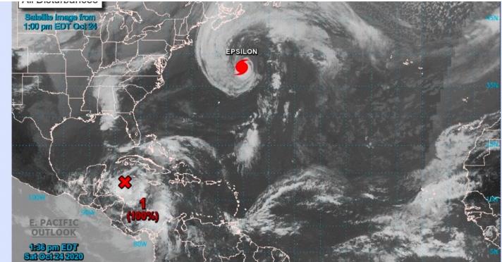 Aumenta a 100% probabilidad de ciclón tropical cerca de Quintana Roo