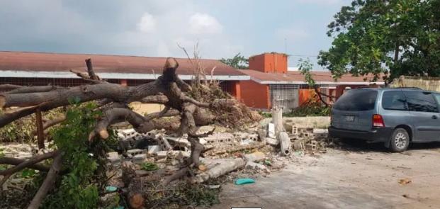 Piden 6 mdp para reparar daños ocasionados por Delta en escuelas