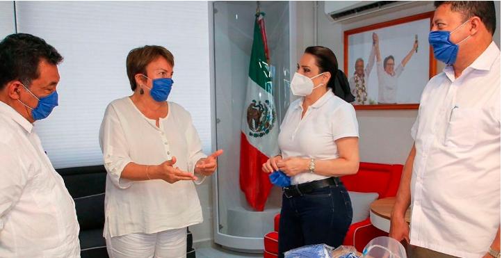 Mantuvo Laura Beristain reunión con diputados para que el agua sea un bien de seguridad nacional y salud pública