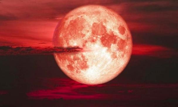 La conjugación de la Luna y Marte, un espectáculo astronómico