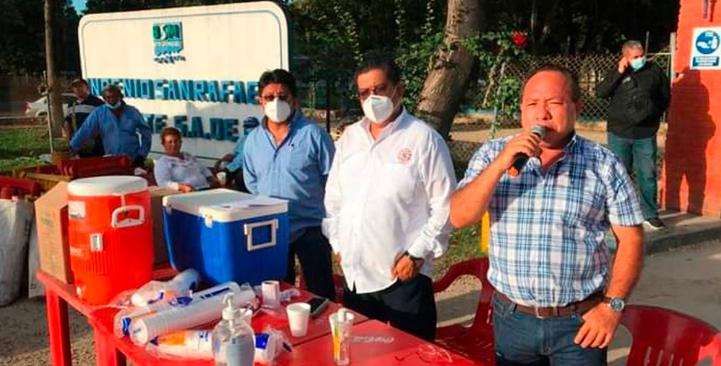 Liberan instalaciones de ingenio azucarero