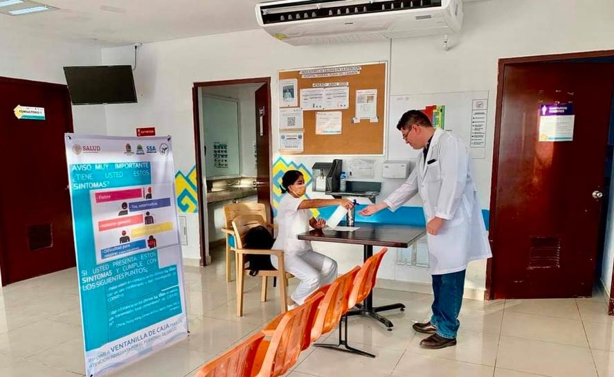 Mantiene Hospital General de Playa del Carmen bajos casos de Covid-19