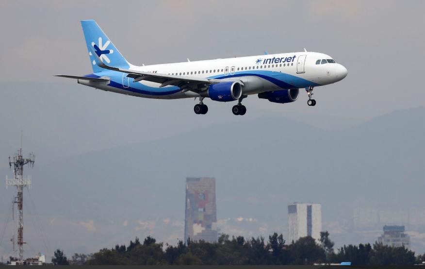 México: Interjet cancela también los vuelos de 2 de noviembre