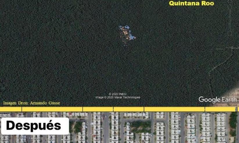 ¡Indignación! Este cenote de Playa del Carmen se hace viral gracias a CADU-Inmobiliaria