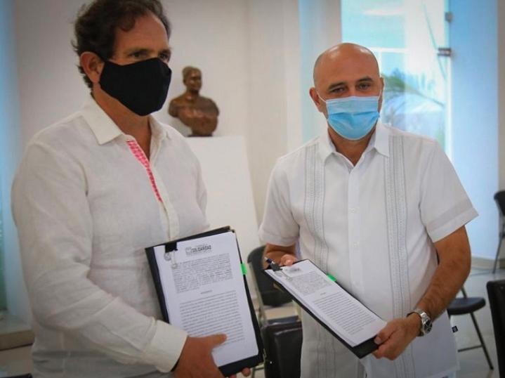 Parque Metropolitano será una realidad en Playa del Carmen: Beristain