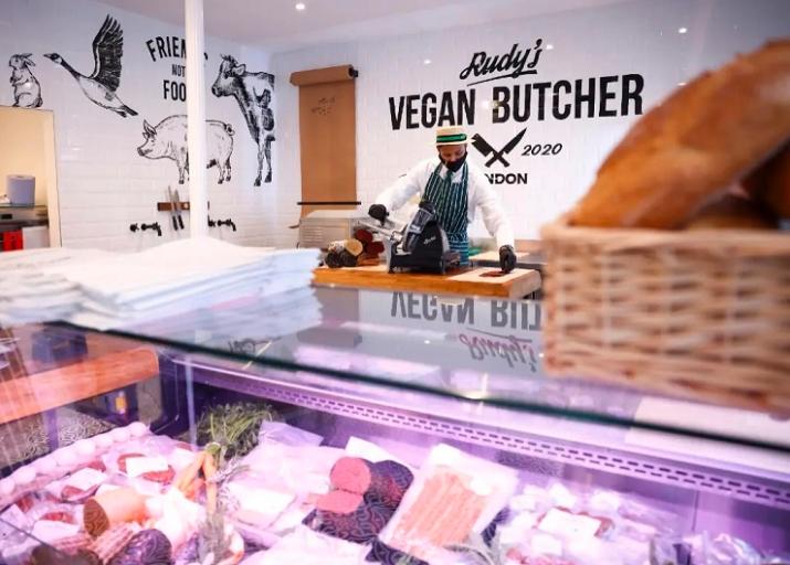 Ve la luz primera carnicería vegana del Reino Unido