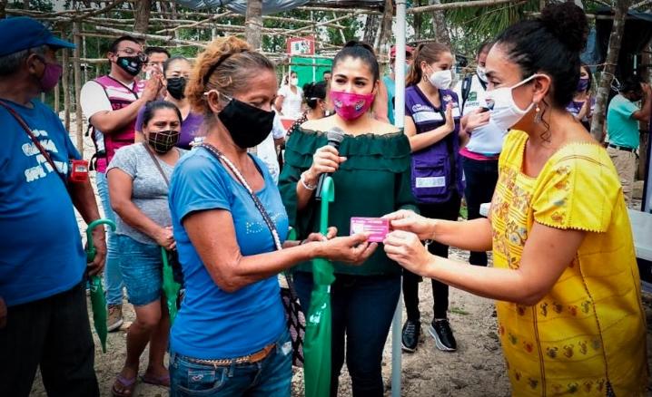 Más 6 mil despensas son entregadas en Playa del Carmen por el DIF