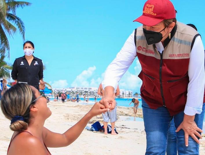 Fomentan la reactivación turística con medidas sanitarias en Solidaridad
