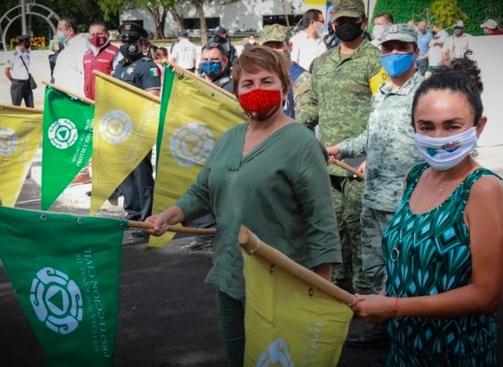 Da Laura Beristain banderazo de inicio a Operativo Vacacional Guadalupe-Reyes 2020