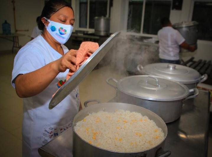 Cuentan solidarenses con asistencia alimentaria como apoyo de gobierno de Laura Beristain