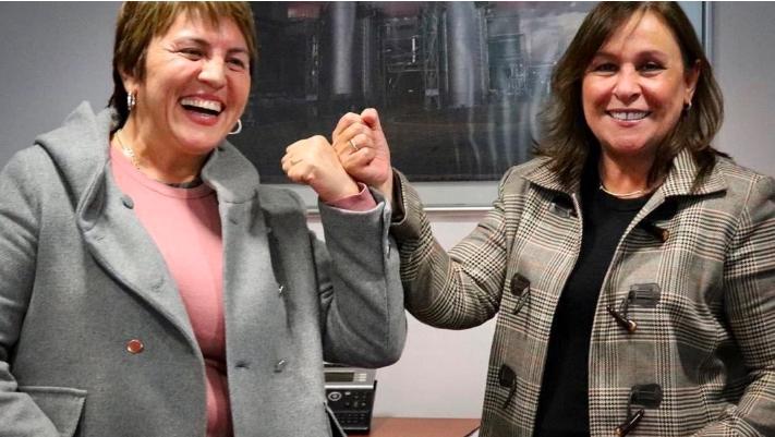 Trazan Laura Beristain y Rocío Nahle proyectos de la 4T para Solidaridad