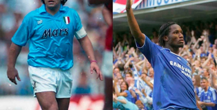 Didier Drogba escribe emotiva carta para Diego Armando Maradona