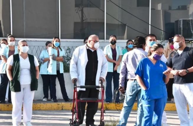 OPERACIÓN CHAPULTEPEC: Llegan médicos de varios estados a CDMX para apoyar en atención de pacientes COVID-19